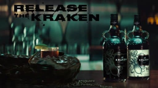 Liquid Simulation VFX for Kraken Rum