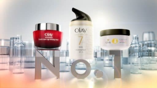 Animated commercial for Olay Products