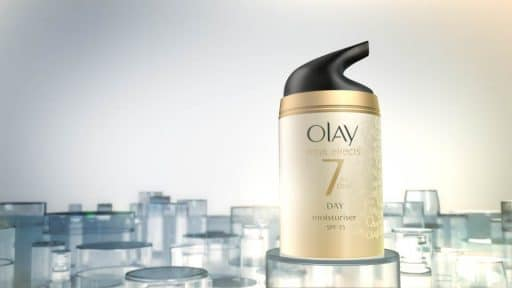 Animated Product Commercial for Olay